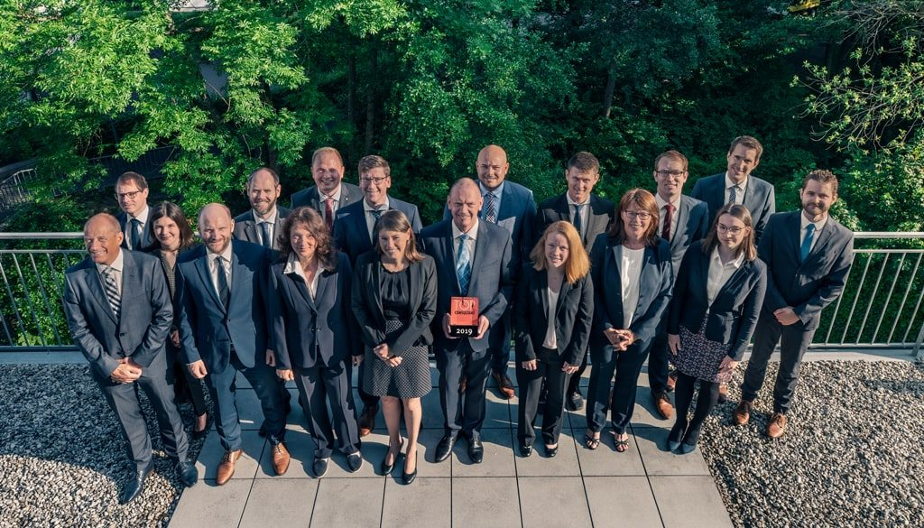 VIA Consult Gruppenfoto Team Award Top Consultant 2019