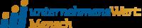 Unternehmens Wert Mensch Logo